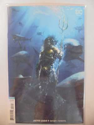 Justice League #11 B Cover (Drowned Earth) DC NM Comics Book