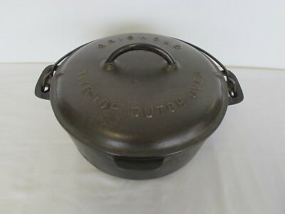 Vintage Griswold No. 8 Cast Iron Tite-Top Dutch Oven Lid # 2551-A