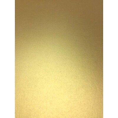 gold 120 gsm metallic pearlescent paper a4