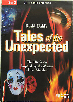 Roald Dahl's Tales of the Unexpected - Set 3 (3 DVDs, 2005)