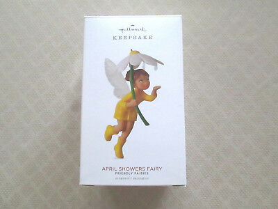 HALLMARK APRIL SHOWERS FAIRY - 3RD in the Friendly fairies Series - 2018 - MIB