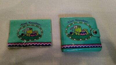 Vintage Sanrio Kimi Kameleen 1991 Wallet SEE All PICTURES FOR DETAILS