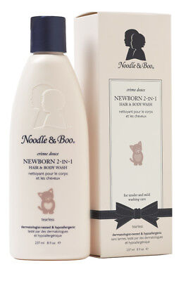 Noodle & Boo Newborn Tearless 2-In-1 Hair & Body Wash 8 fl. oz. (pack of 2)