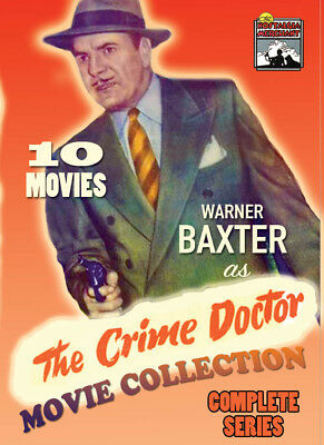 Crime Doctor Films - Complete 10 Movie Collection- 1943 - 1949