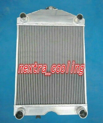 Aluminum radiator for Ford 2N / 8N / 9N tractor w/flathead V8 engine Manual 56mm