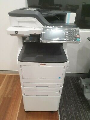 OKI MC 873 Colour Copy, Network Print / Scan, Fax, LED Printing, Duplex, ADF