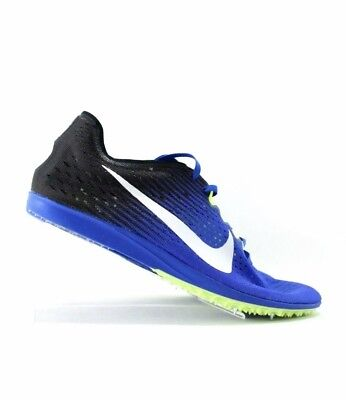 new style 3e9ae 8c872 Nike Zoom Matumbo 3 Track Running Spikes Blue White Green SZ 12.5 (  835995-413