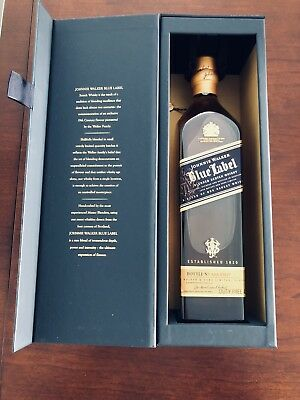 Johnnie Walker Blue Label Scotch Whiskey 750ml BRAND NEW IN THE BOX (SEALED)