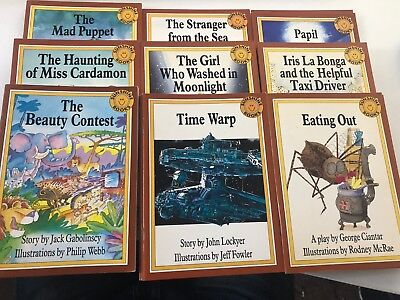 Lot of 28 Sunshine Books Level (11) Eleven The Mystery Picture Collection