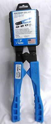 SharkBite 3/8-in, 1/2-in, 3/4-in, 1-in PEX Crimp Ring Tool Kit 865896