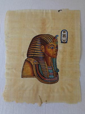 Ancient Egypt Mask of Tutankhamun Nefertari Pharaoh Hieroglyphs Papyrus