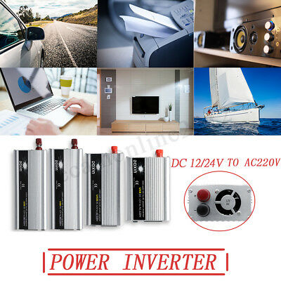 Car Power Inverter 500W 1000W 1500W 2000W Converter USB Battery Charger 220V AC