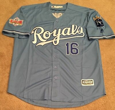 reputable site c7e13 71a4a BO JACKSON KANSAS City Royals Retro Throwback Jersey Mens XL NWT 1989 All  Star
