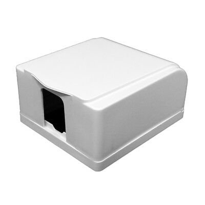 86*86mm Switch Socket White Waterproof Cover Case Box For Socket Panel Mounting