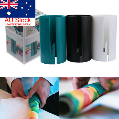 Little ELF Cutting Sliding Wrapping Paper Gift Roll Cutter Made Easy and Fun AU