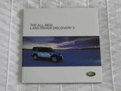 2004   Land Rover Discovery 3 Press / Media Information  Pack + Cd Rom.