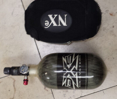 Paintball Luft Flasche HP System 1,1L 3000 PSI 200 bar 1,1Kg