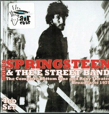BRUCE SPRINGSTEEN - Complete Bottom line & Roxy theater broadcasts 1975 (4 Cds)