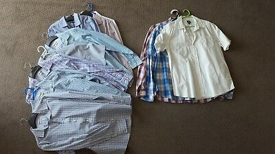 Mens business & casual shirts – Bulk lot of 11 – Size M