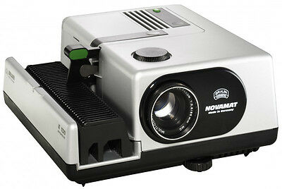 Braun Novamat 35mm Slide Projector E150 Autofocus & Infrared Remote Control NEW!