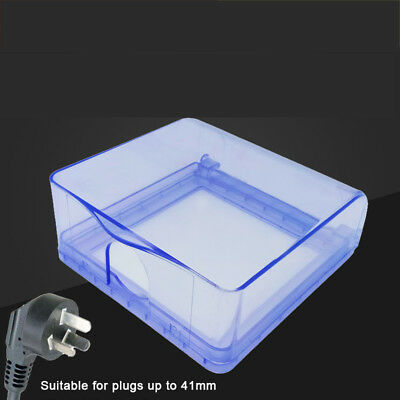 1Pcs Socket Switch Self-adhesive Waterproof Cover Box For Socket Panel Mounting