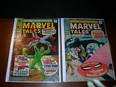MARVEL TALES  # 15 and  # 17   year 1968.