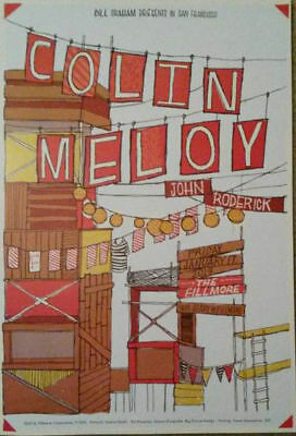 MINT COLIN MELOY FILLMORE POSTER 2014 The Decemberists