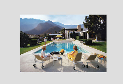 PALM SPRINGS , LIFESTYLE in 70s   , Beautiful print !