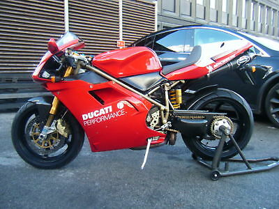 Ducati 916 foggy rep 1997 fully loaded with carbon full ohlins suspension termis