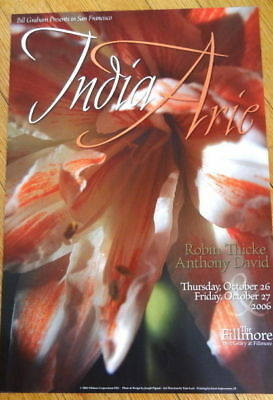 Mint India Arie Robin Thicke 06 Fillmore Poster
