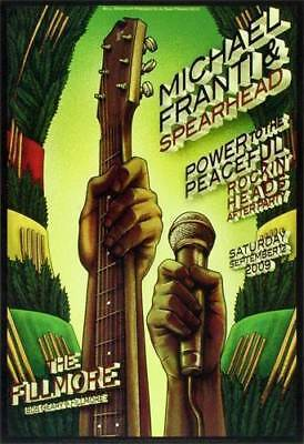 Mint SPEARHEAD FILLMORE POSTER 09