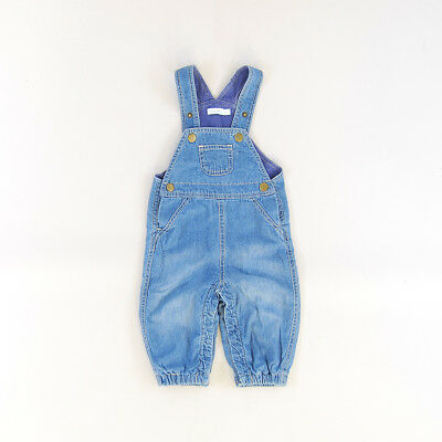 Peto color Denim oscuro marca Dombi 6 Meses  193086