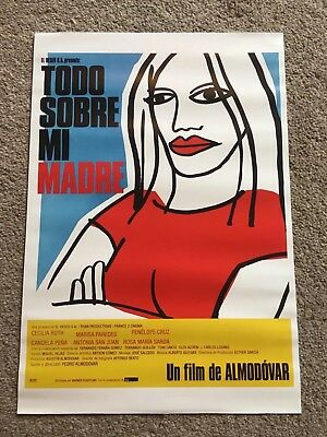 All About My Mother Spanish Poster 28cm x 40cm