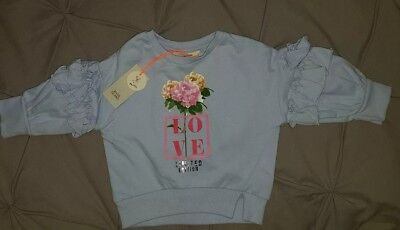 Baby Girls River Island Jumper Brand New With Tags 3-6 Months