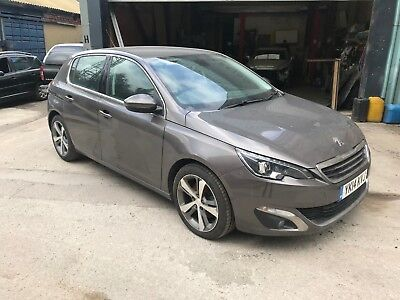 2014 Peugeot 308 Allure Blue Hdi Auto, Spares Or Repairs, Starts And Drives
