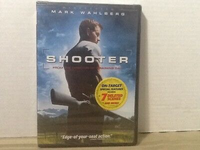 Shooter (Widescreen Edition,DVD,2007) Mark Wahlberg New & Sealed