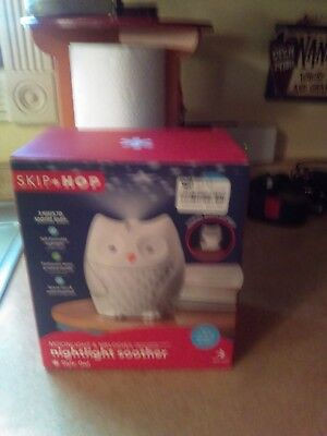 New Skip * Hop Moonlight & Melodies Nightlight Soother **style Owl**