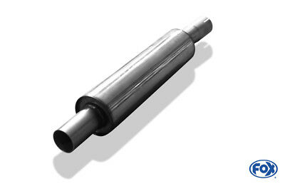 VW Golf III Pre-silencer 50mm Made of Stainless Steel by Fox