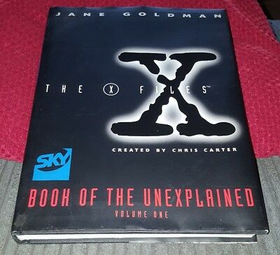 The X Files: Book of the Unexplained by Jane Goldman (Hardback, 1996)