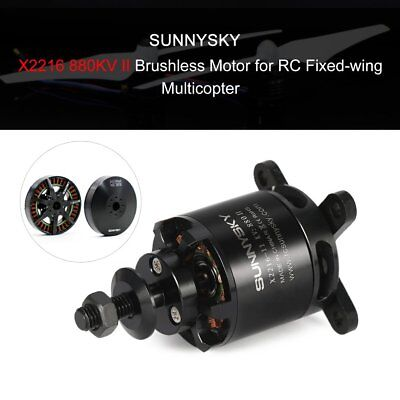 SUNNYSKY X2216 880KV II 2-4S Brushless Motor for RC Fixed-wing AirplaneS#