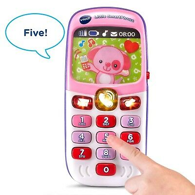 Toddler Girl Pink Toy Educational Play Phone Kid Music Baby Development Learning