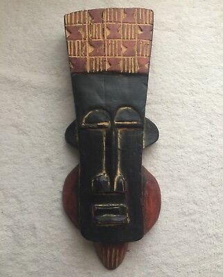 Ghana Collection Wanuwi King Mask African Collectable