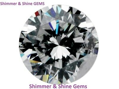 Loose Round Cubic Zirconia Gemstones 5A SIZES: 1 - 12MM FREE & FAST DELIVERY!