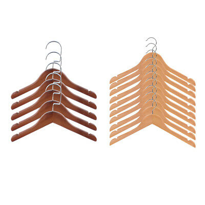20 Pieces Non Slip Wood Hangers for Kids Baby
