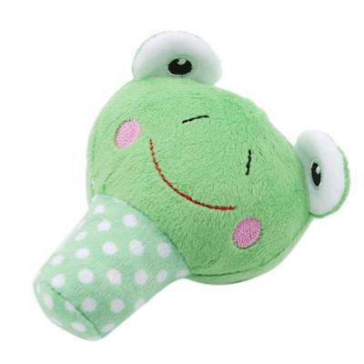 Pet Dog Plush Toys Cute Cartoon Rattle Sound Chew Squeaky Soft Puppy Toy Q