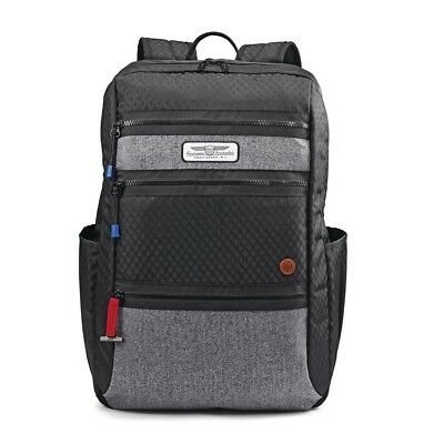 "American Tourister 18"" Straightshooter Backpack, Black"