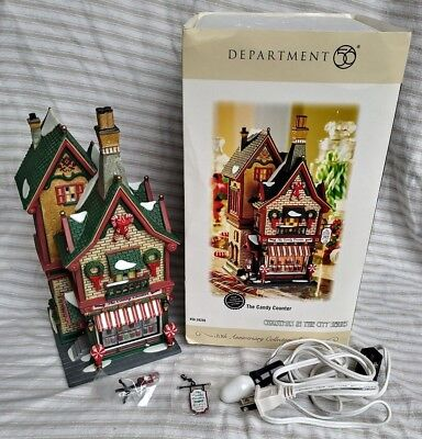 Department 56 The Candy Counter Christmas City Series 30th Anniv. Dept. 56.59256