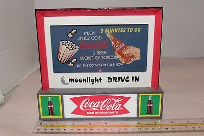 Coca Cola Brand Christmas Town Square Collection Moonlight Drive In Theater