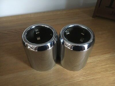 New Genuine MINI BMW Chrome Exhaust Tailpipe Tip F56 Cooper S OEM