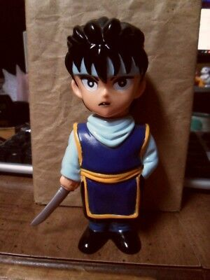 Yu Yu Hakusho Hiei Soft Vinyl Figure Bank Official Japan RARE